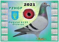 Kalendarz 2021 rok